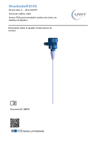 NG 8100 Rope Version - Technical information - NG8100_gi_es.pdf