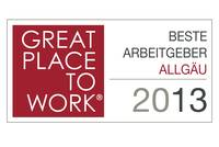Great Place to Work 2013 awarded to UWT