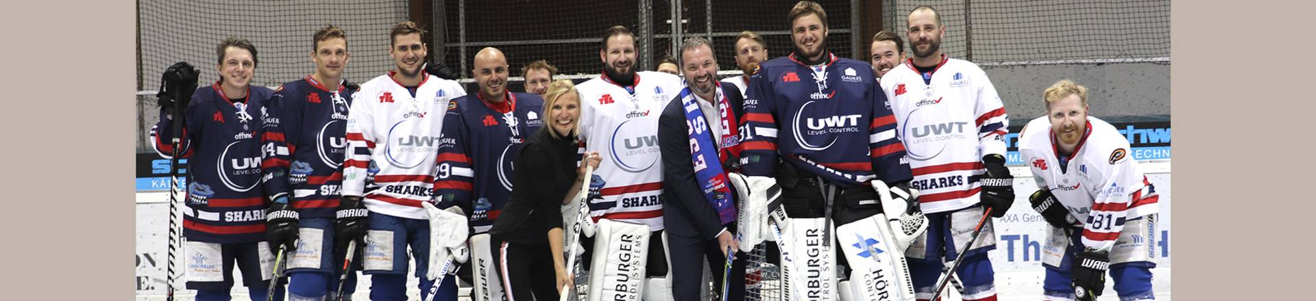UWT sponsort den ESC Eishockey Club in Kempten