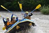 UWT outdoor rafting - 2014