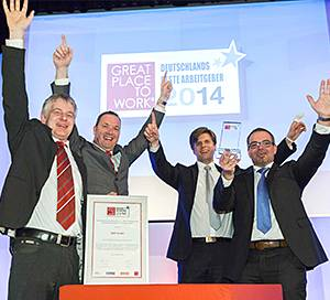 Great Place to Work - Deutschlands Beste Arbeitgeber 2014