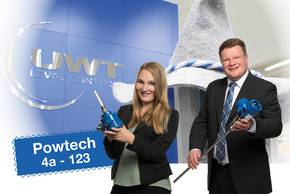 Powtech booth 123 hall 4a