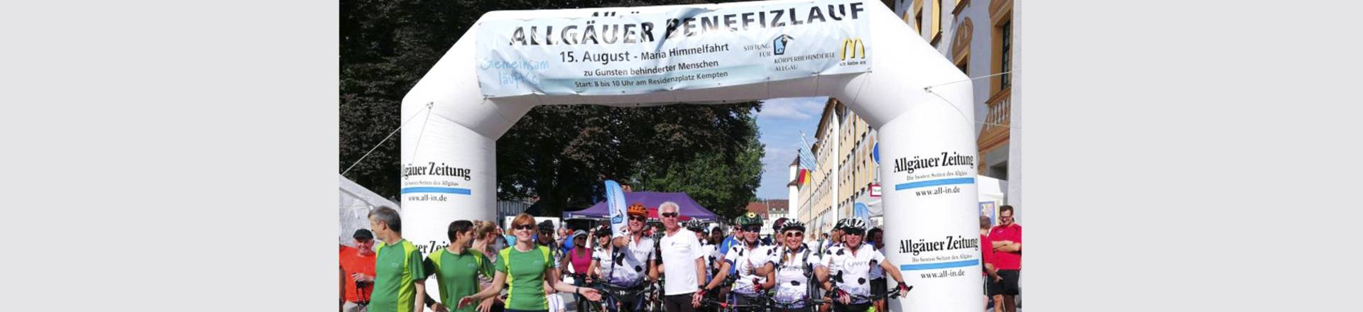 Run for charity - Allgäuer Benefizlauf