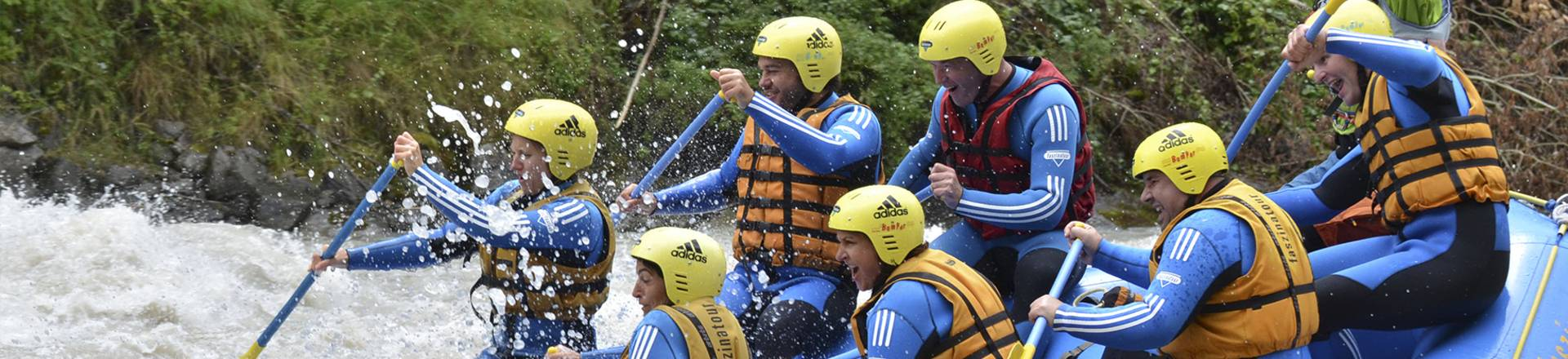 UWT works outing - rafting