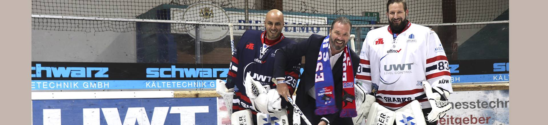 UWT is sponsoring the ice hockey club ESC in Kempten, Germany